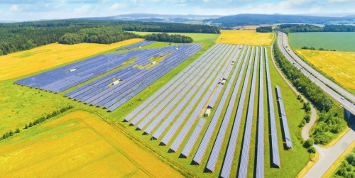 Innovative solar power plant projects