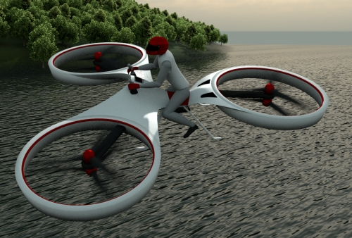 Seeking investor for developing an electric personal flight device